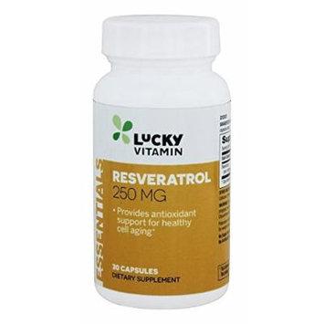 LuckyVitamin - Resveratrol 250 mg. - 30 Capsules