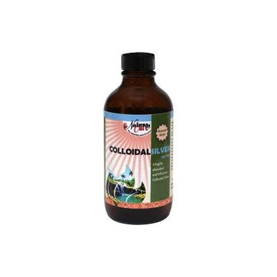 Natures Cure Colloidal Silver 100ppm Liquid - 8 OZ