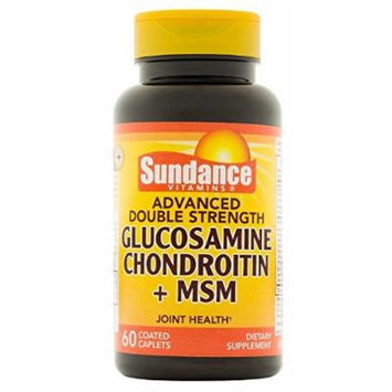 Sundance DS Gluc Chon MSM Capsules, 60 Count
