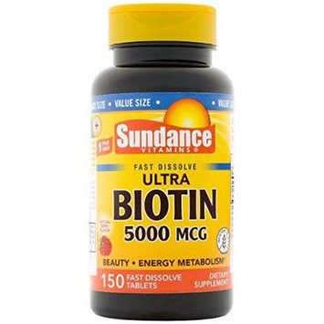 Sundance Biotin 5000 mcg Softgels, 150 Count