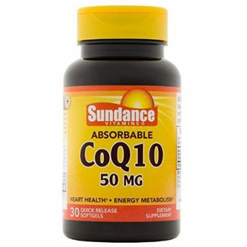 Sundance Co Q-10 50 mg Mineral Supplement, 30 Count