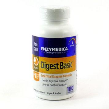 Enzymedica - Digest Basic Essential Digestive Enzymes - 180 Capsules