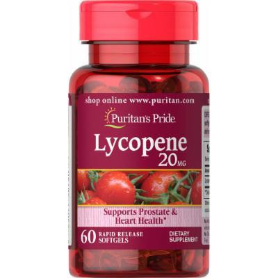 Puritan's Pride Lycopene 20 mg-60 Softgels