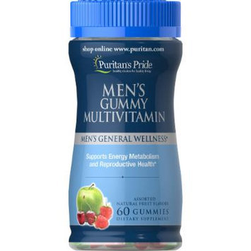 Puritan's Pride Men's Gummy Multivitamin -60 Gummies