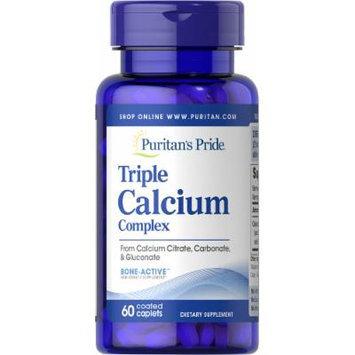 Puritan's Pride Triple Calcium Complex-60 Caplets