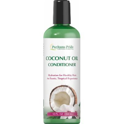 Puritan's Pride Coconut Oil Conditioner-12 oz Bottle