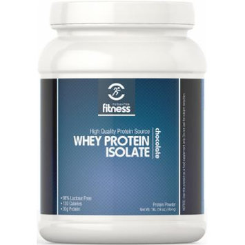 Puritan's Pride Fitness Whey Protein Isolate Chocolate-1 lb Powder