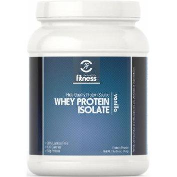 Puritan's Pride Fitness Whey Protein Isolate Vanilla-1 lb Powder