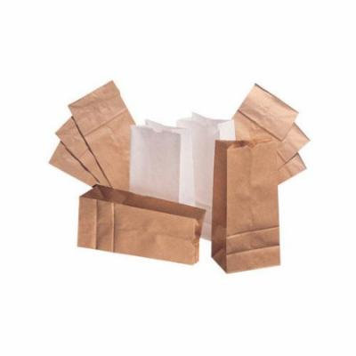 General 10 Kraft Paper Bag in Brown with 500 Per Bundle (Set of 2)