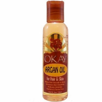 Okay Argan Oil For Hair & Skin, 2 oz