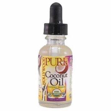 Hollywood Beauty Pure Organic Coconut Oil, 1 oz