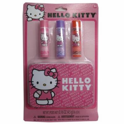 Hello Kitty Girls Lip Balm Set Cosmetic Accessory