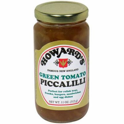 Howard's Green Tomato Piccalilli, 11 oz (Pack of 6)