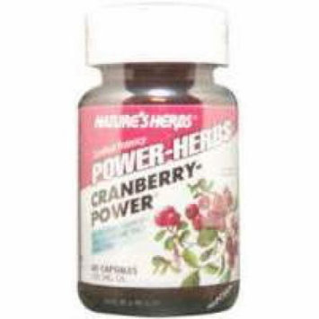 Cranberry-Power Nature's Herbs 60 Caps