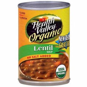 Health Valley Lentil Soup, 15 oz (Pack of 6)