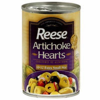 Reese Extra Small Artichoke Hearts, 14 oz (Pack of 12)