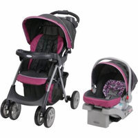 Graco Comfy Cruiser Click Connect Travel System, with SnugRide Click Connect 30 Infant Car Seat, Pammie