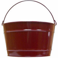 Decorative Pail - Set of 8 (Large in Purple Radiance)