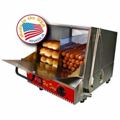 Paragon Classic Dog Hotdog Sausage Steamer Hot Bun Warmer Concession 8080