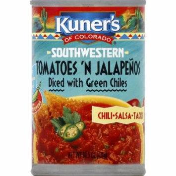 Kuner's of Colorado Southwestern Tomatoes 'N Jalapenos Salsa, 15 oz (Pack of 12)
