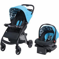 Graco Verb Click Connect Travel System, with SnugRide Click Connect 30 Infant Car Seat, Motif
