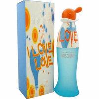 Moschino I Love Love Cheap and Chic for Women Eau de Toilette, 3.4 oz