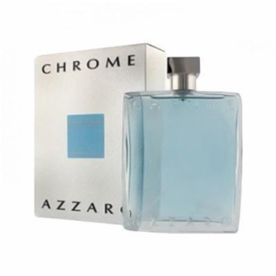 Azzaro Chrome Eau de Toilette for Men 3.4 oz