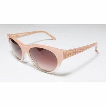 Just Cavalli Jc563s 55-19-140 Gradient Salmon Full-Rim Sunglasses