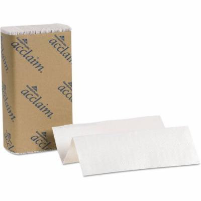 Georgia Pacific Acclaim Folded White Paper Towel, 250 sheets, 16 ct