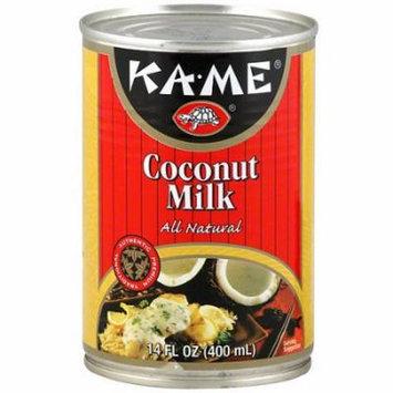 Ka-Me Coconut Milk, 14FO (Pack of 12)