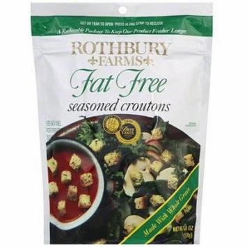 Rothbury Farms Fat-Free Seasoned Croutons, 6 oz (Pack of 12)