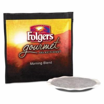 Folgers 63104 Gourmet Selections Coffee Pods, Morning Blend, 18/box