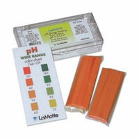 Test Strip, pH, Range 3 to 10, Pk 200