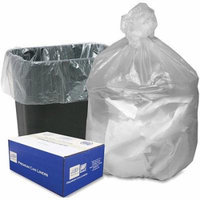 Webster High Density Resin Premium Can Liners, Natural, 16 gal, 1000 count