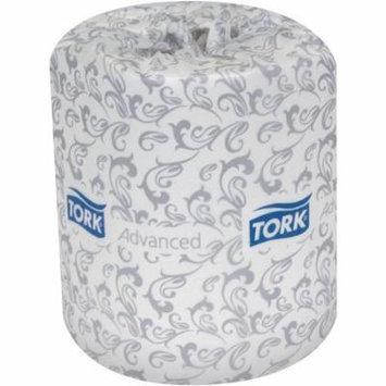 Tork Advanced White 2-Ply Jumbo Roll Toilet Tissue, 500 sheets, 96 rolls