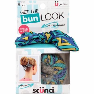 scunci Bun Maker Kit, 6 pc