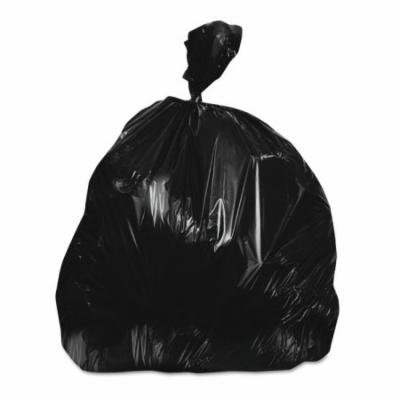 Boardwalk Low-Density Black Trash Trash Bags, 45 gal, 250 count