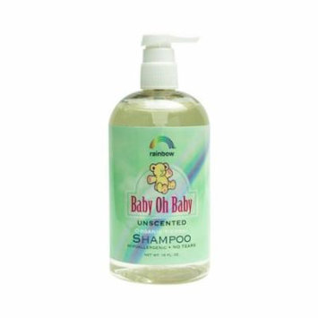 Rainbow Research Baby Oh Baby Organic Unscented Shampoo -16 Oz