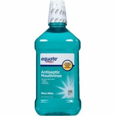Equate Blue Mint Antiseptic Mouthrinse, 50.7 fl oz