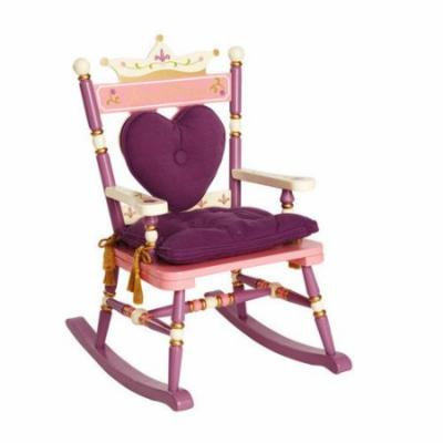 Levels of Discovery Princess Rock A Buddies Royal Kid's Rocking Chair