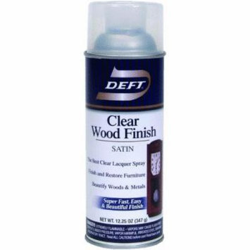 Deft Interior Spray Lacquer, Clear Wood Finish