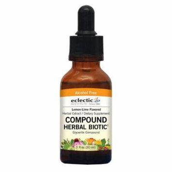 Compound Biotic Lemon-Lime No Alcohol Glycerite Eclectic Institute 1 oz Liquid
