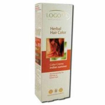 Logona - Hair Color Cream, Indian Summer, 5.1 oz
