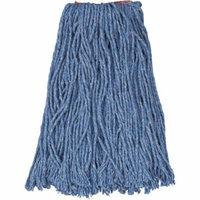 Rubbermaid Commercial Cotton/Synthetic Cut-End Blend Mop Head, 16oz, 1
