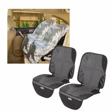 Mommy's Helper Car Seat Sun Shade with Car Seat Mat, Set of 2