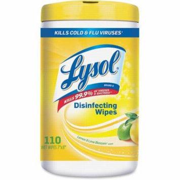 Reckitt & Benckiser Lysol Lemon/Lime Blossom Wipes -RAC78849CT