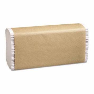 Folded Paper Towels, 9 1/4 x 9 1/2, Multi-Fold, White, 250/Pack, 16/Carton P200B