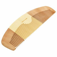 Retro Wooden Natural Comb Hair Care Tool Half-Moon Shape
