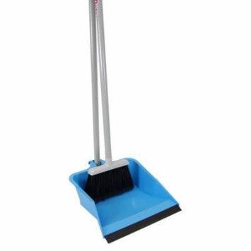 Quickie Mfg 429 Dust Pan & Broom, Flip Lock