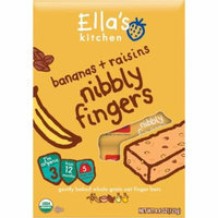 Ella's Kitchen Organic Banana + Raisin Nibbly Fingers Stage 3 Baby Food, 4.4 oz, 6 count